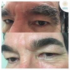 Mens eyebrow grooming