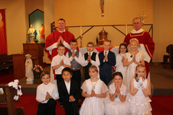 First Communion 2021 at St. Louis