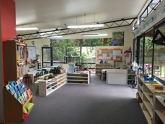 The Pukeko classroom with Montessori teaching equipment
