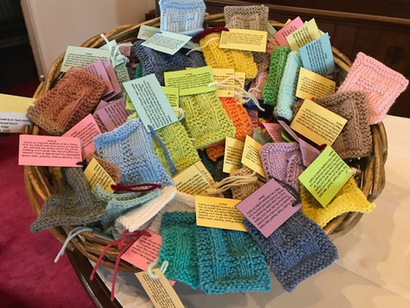 Prayer Squares and Shawls Available