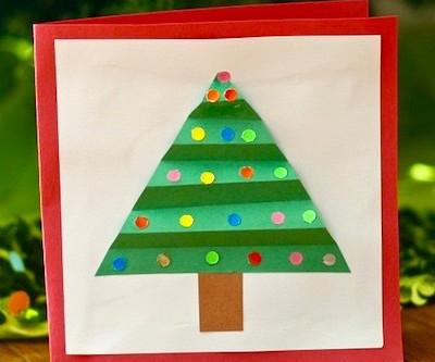 Dec. 1:  Make a Christmas Card!