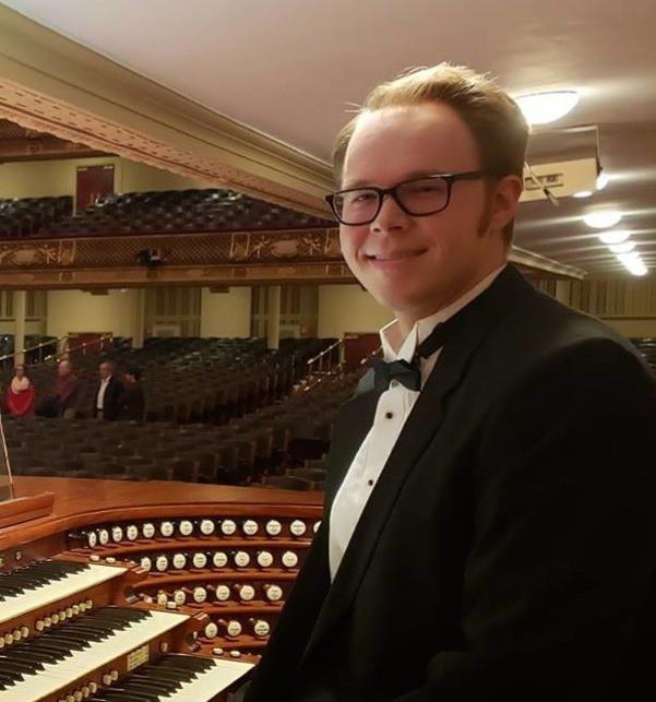 Sam Nelson at Symphony Hall