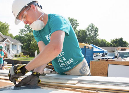 Community Outreach with Habitat for Humanity