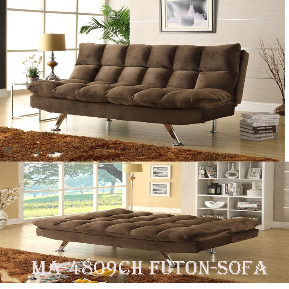4809CH futon-sofa open