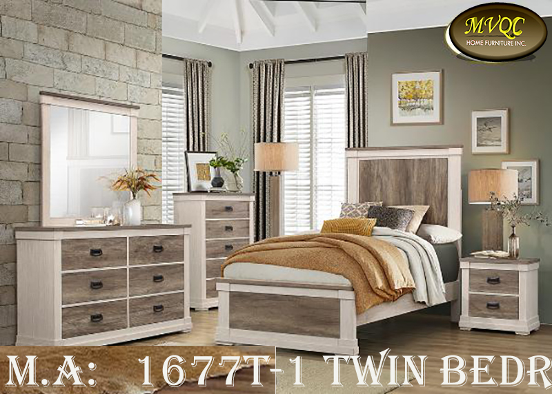 1677T-1 twin bedroom