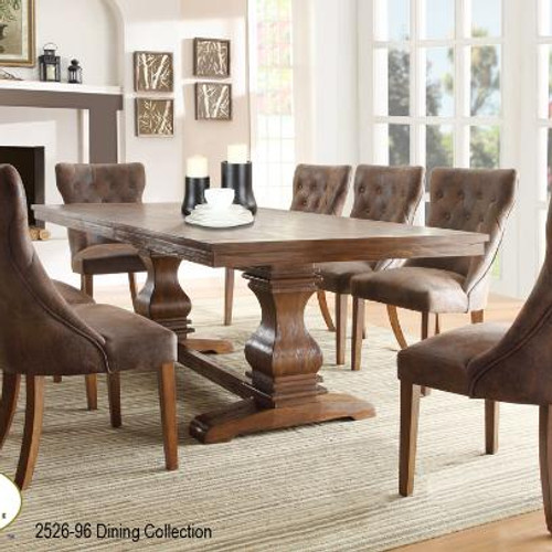 Delicieux Contemporar Modern Dining Room Table With Fabric Chairs, Marie Louise