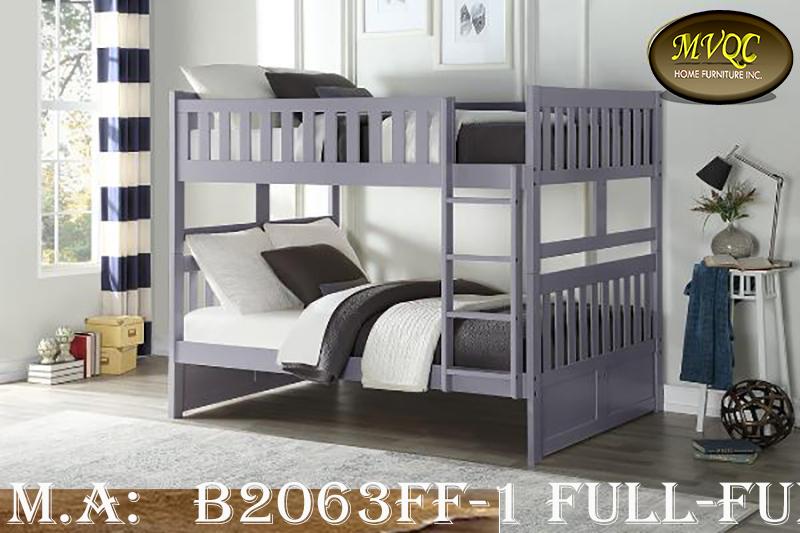 B2063FF-1 Full-Full bunkbed