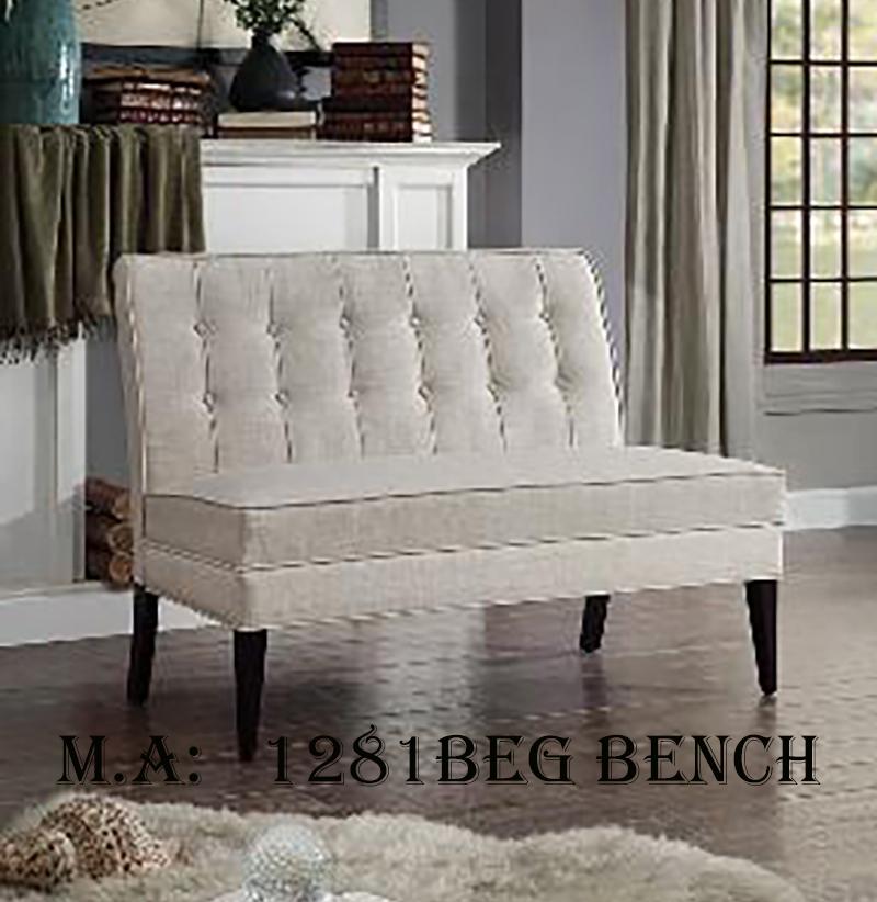 1281BEG bench