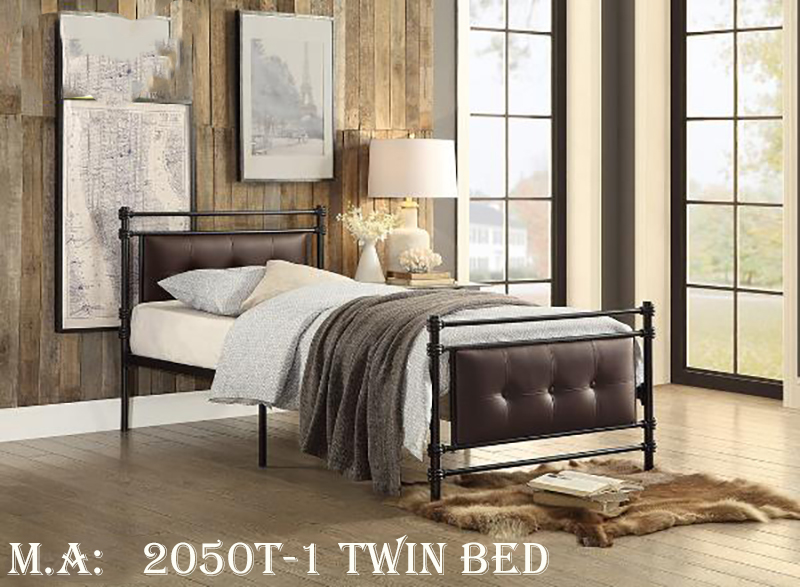2050T-1 twin bed