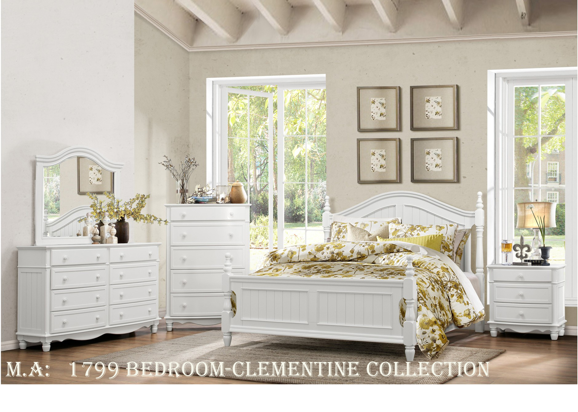 1799 Bedroom-Clementine Collection