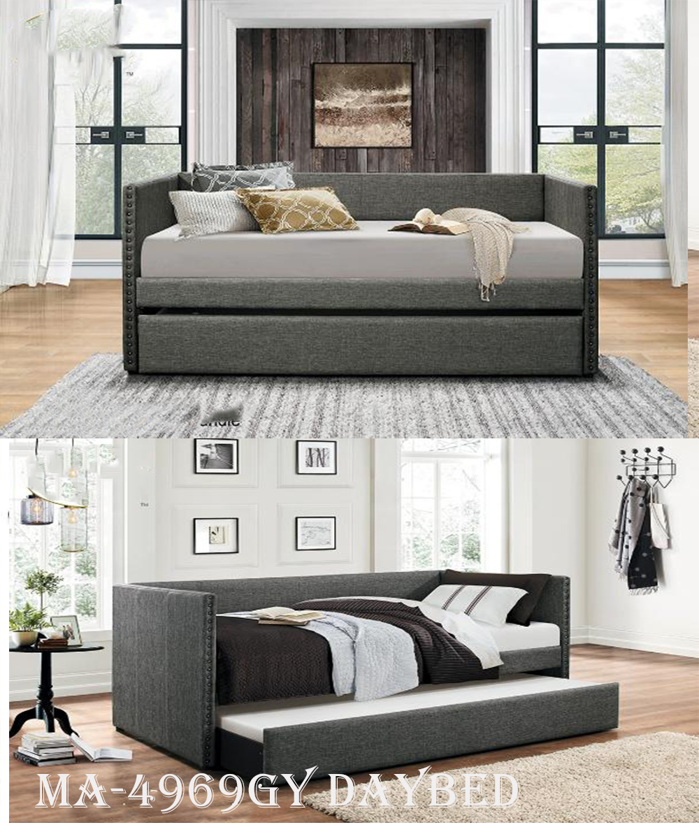 4969GY daybed with trundle