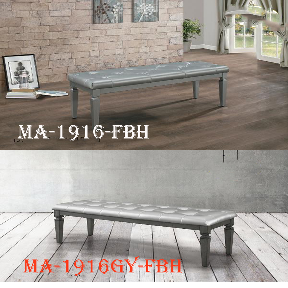1916-FBH footboard bench