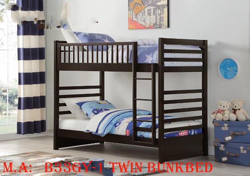 B33GY-1 Twin Bunkbed