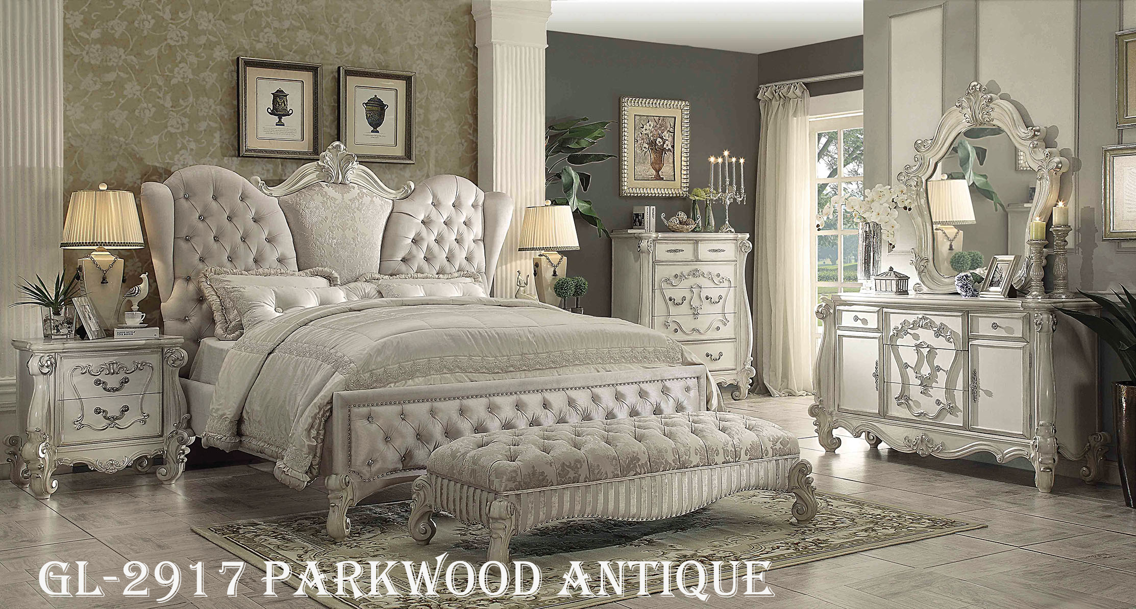 GL-2917 PARKWOOD ANTIQUE