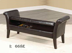 storage benches, chair