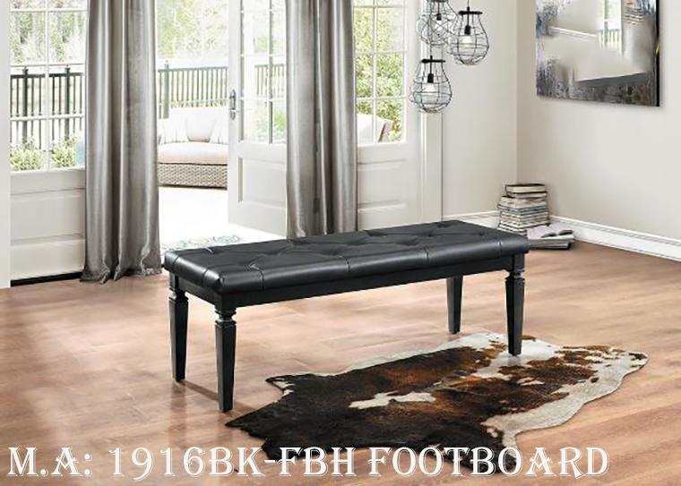 1916BK-FBH footboard bench