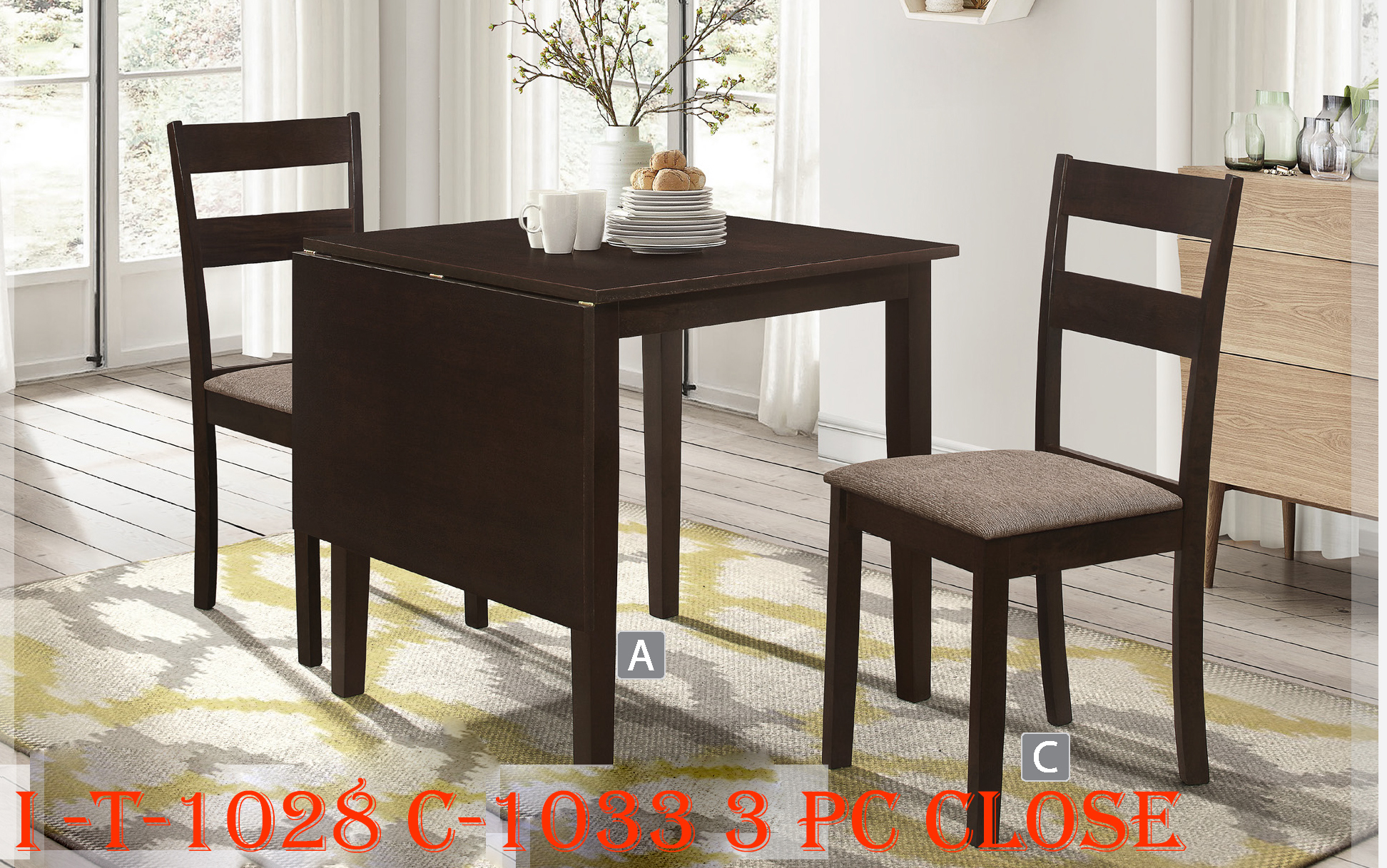 I-T-1028 C-1033 3 PC CLOSE