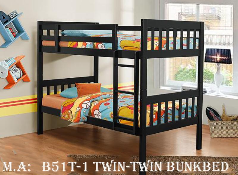 B51T-1 twin-twin bunkbed
