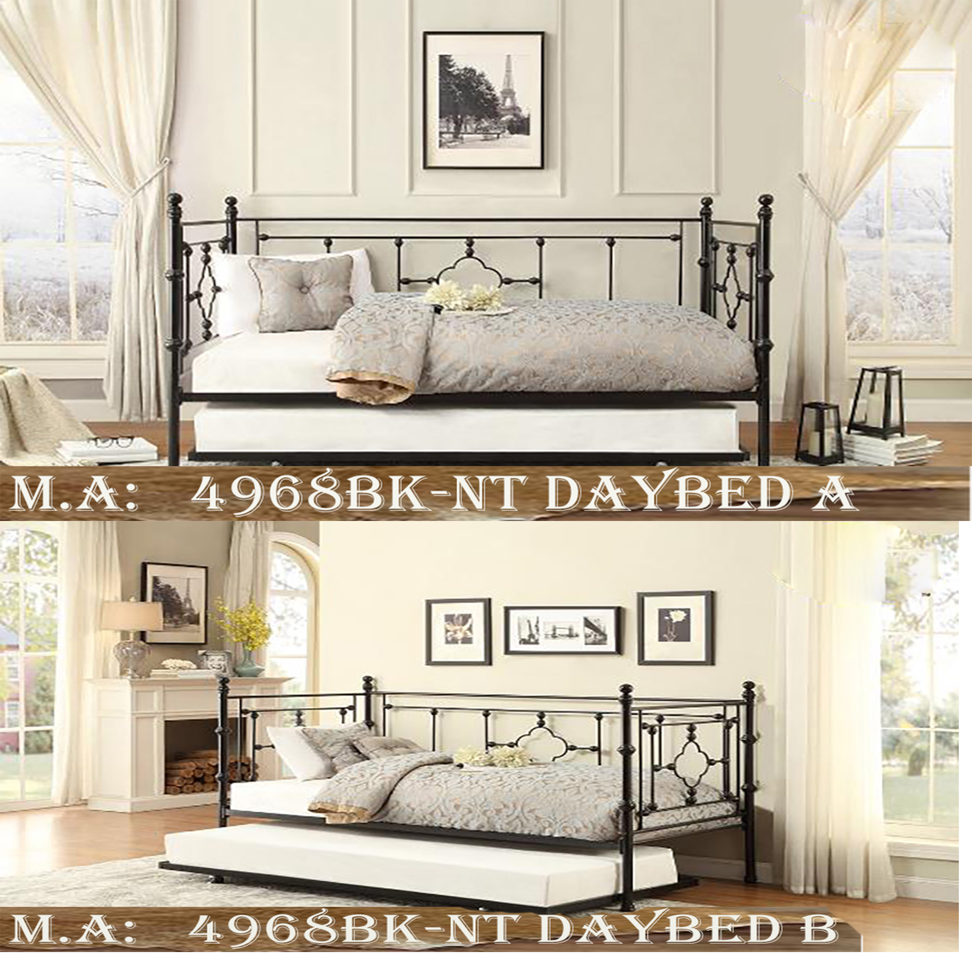 1-4968BK-NT daybed a