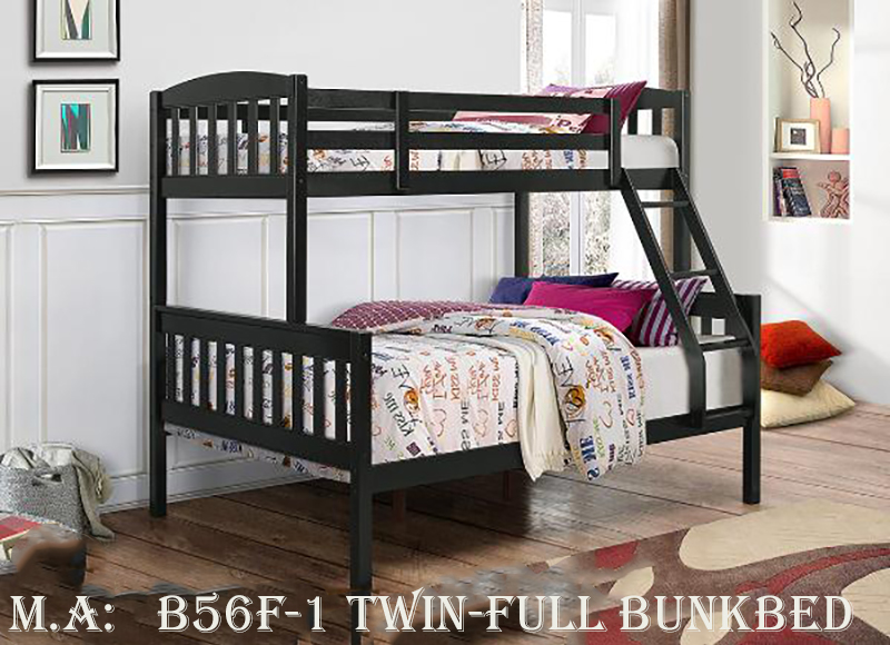 B56F-1 twin-full bunkbed