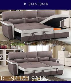 storage futon & couches