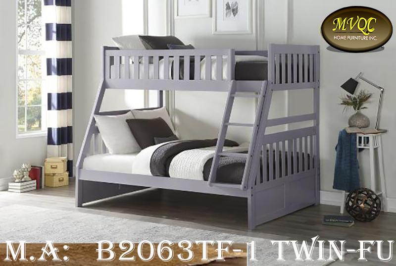 B2063TF-1 Twin-Full bunkbed