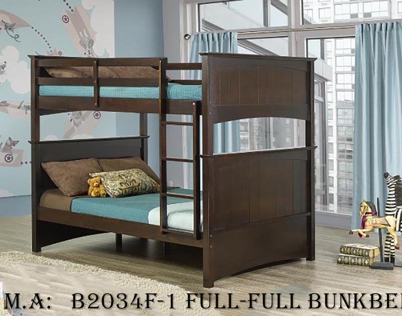 B2034F-1 full-full bunkbed