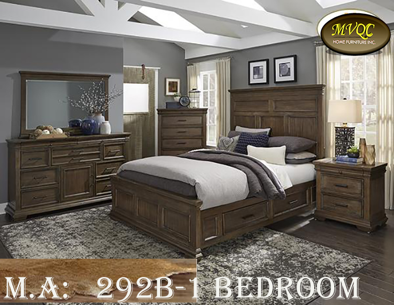 292B-1 bedroom