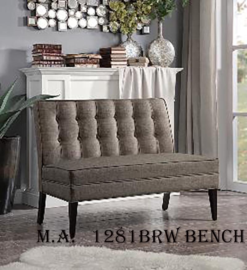 1281BRW bench