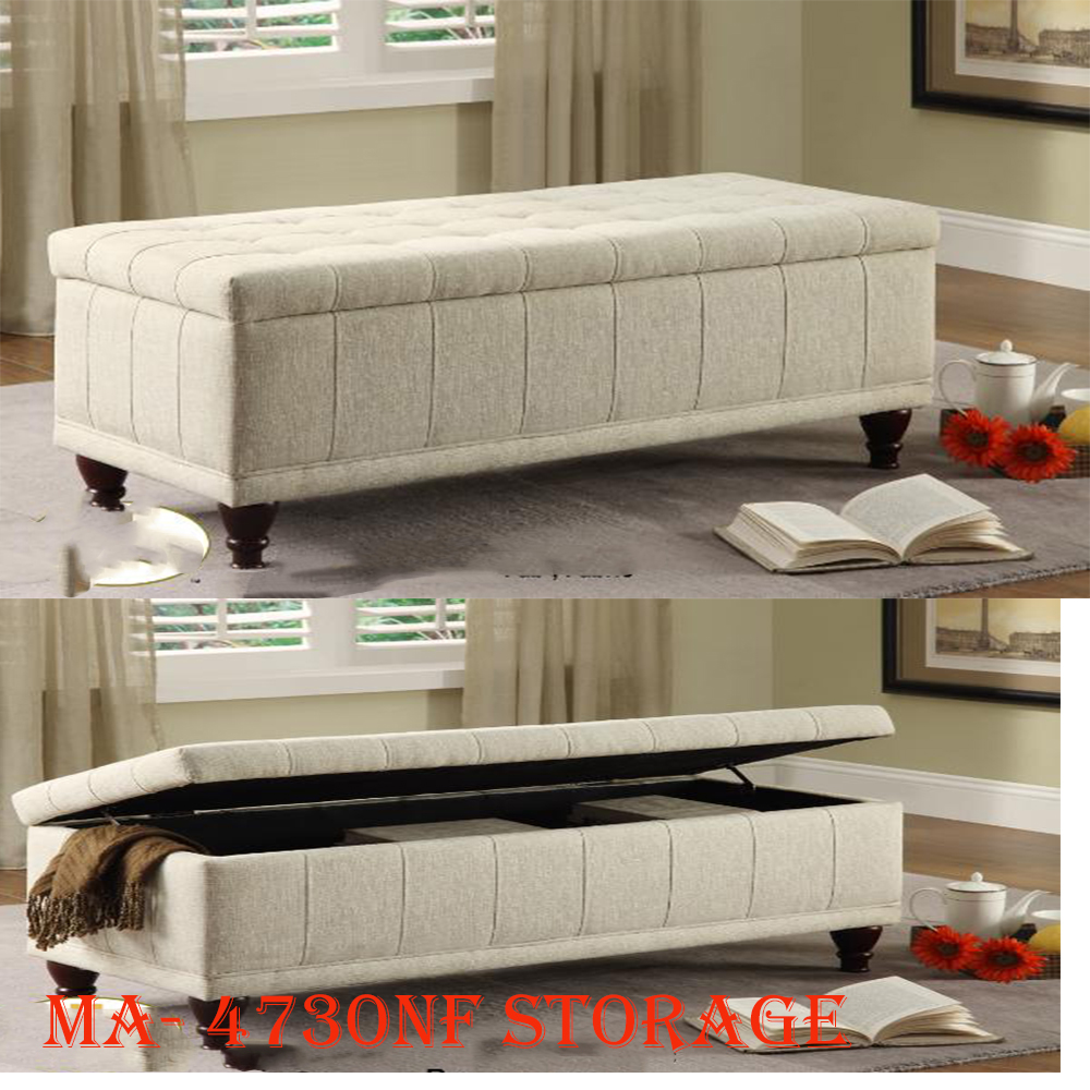 4730NF storage bench-closed
