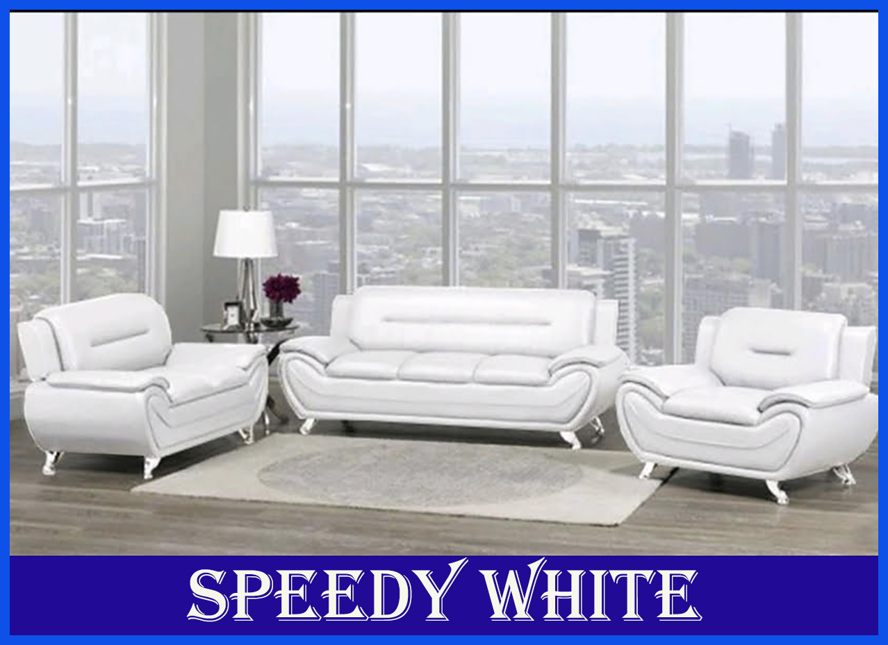 SPEEDY WHITE sofas