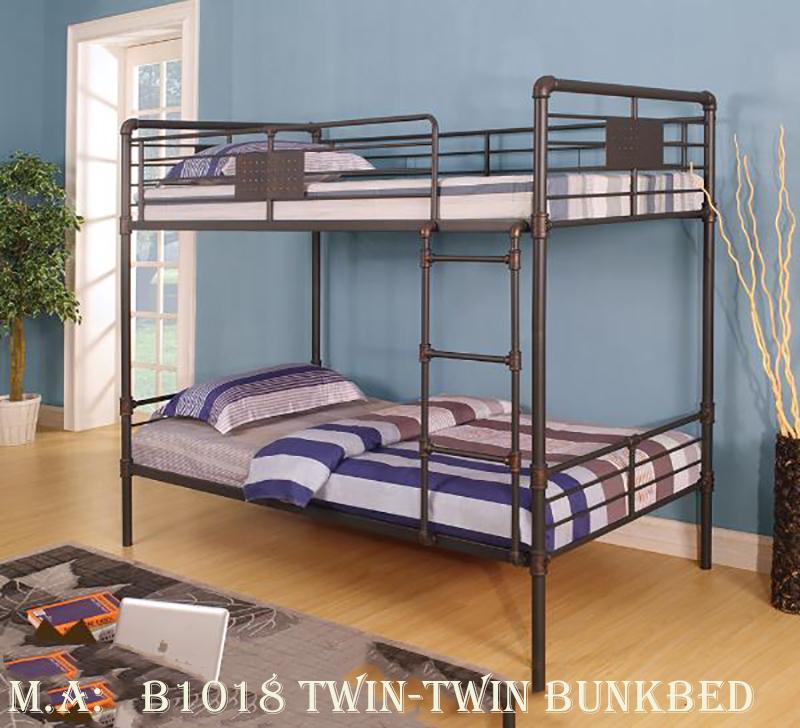 B1018 twin-twin bunkbed