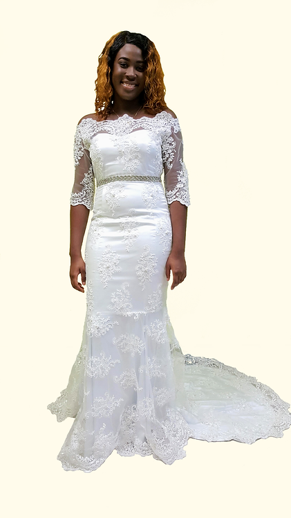 Kate (Lace Overlay)