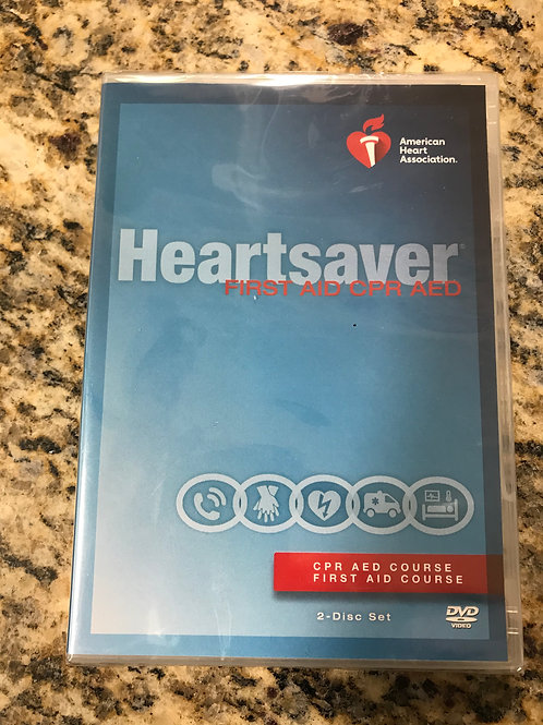 Heartsaver 1st Aid CPR AED Instructor DVD Set