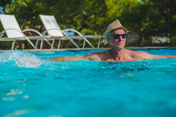 Swimming in the Sun