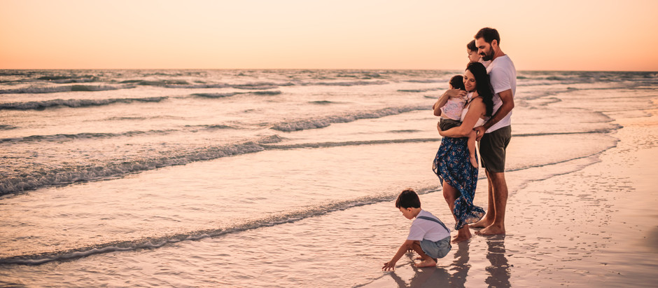 Siesta Key Beach Family Photo Shoot * Sarasota Photographer * Fallon Photography
