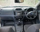 Ford Ranger cab interior