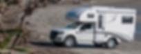 Ford Ranger on beach