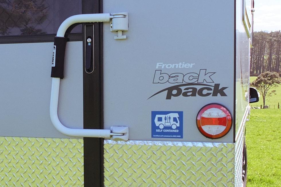 Frontier Backpack exterior details