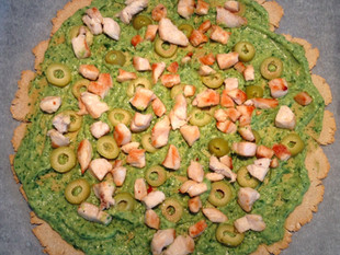 Lihtne pitsa avokaadokattega (teravilja-, muna-, piima-, gluteenivaba)