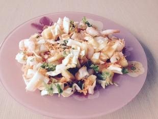 Ananassi-krevetisalat