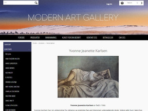 Yvonne Jeanette Karlsen profile - Modern Art Gallery