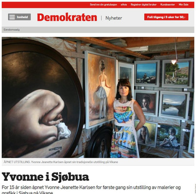Yvonne i Sjøbua - Demokraten