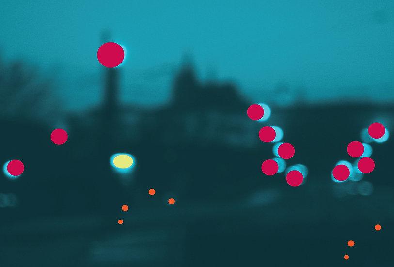 Praha noční kompozice