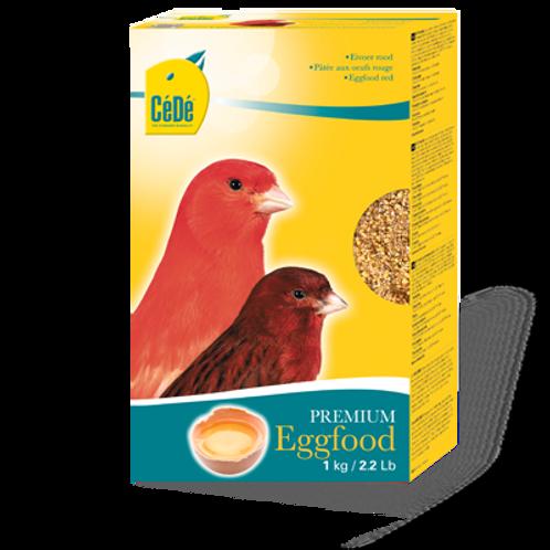 Para Tarim e Pássaros com Fator - Eggfood Red (1Kg)