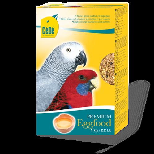 Para Araras, Cacatuas, etc - Large Parakeet (com Ovos e Camarão)  (1Kg)