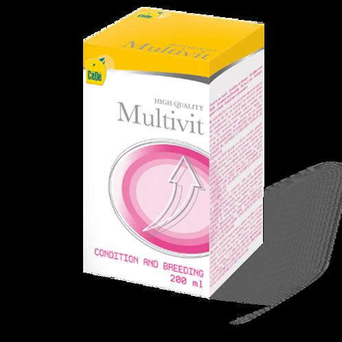 MultVit - Multivitamínico para Condição Geral (200ml/unid)