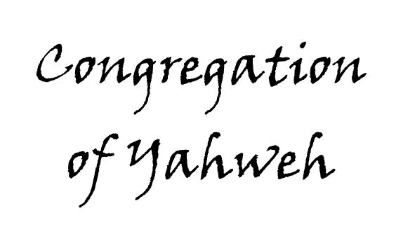 Congregation of Yahweh