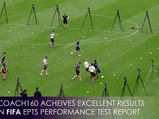 FIFA Quality Performance Program certified award-winning TRACK160 for EXCELLENT results.