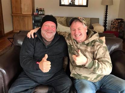 AussieJohn Hossack With Texas Outfitter & Friend Bruce Hunnicutt